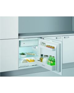 Indesit IFA1 60cm Wide Integrated Under Counter Fridge With Ice Box - White
